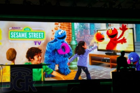 Sesame Street Kinect TV