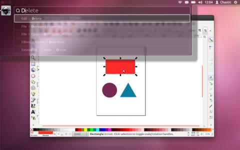 Ubuntu HUD Interface