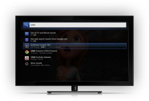 Google TV Search