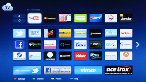 Uppleva Smart TV Screen
