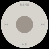 아이팟 클릭 휠(click wheel)