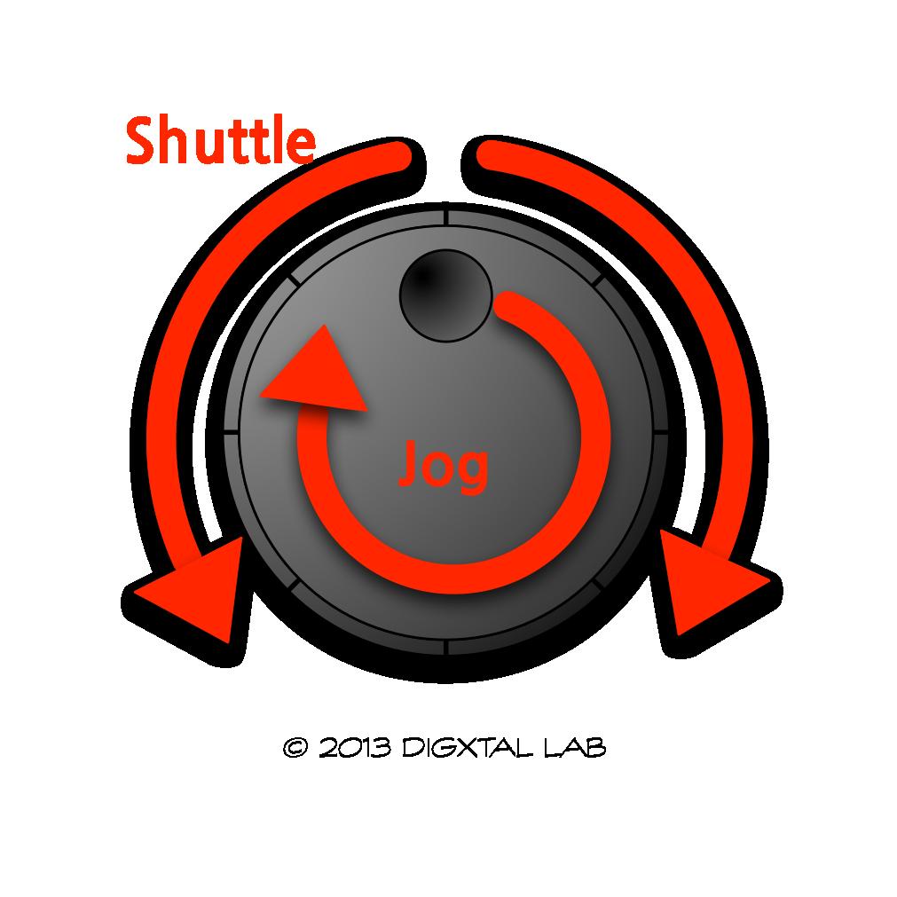조그(jog)와 셔틀(shuttle) 동작